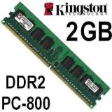memoria ram ddr2 kingston 2gb - foto