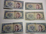 Billete de 100 Escudos de Chile año 1967 - foto