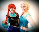 Animación infantil Elsa y Anna Frozen - foto