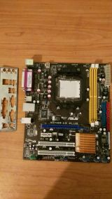 placa am2+ asus m2n68-am plus para quad - foto