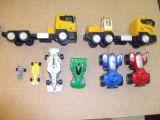 lote de coches y camiones - foto