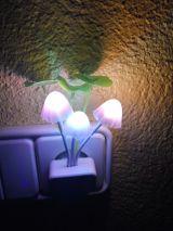 luz noche led color sensor - foto