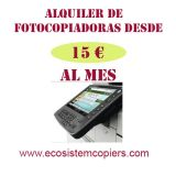 Renting de fotocopiadoras barato - foto