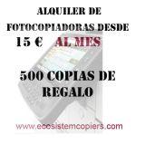 Oferta en fotocopiadoras desde 15€/mes - foto