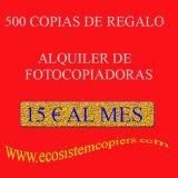 Fotocopiadoras para comercio 15€/mes - foto