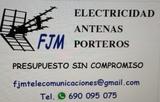 Antenas y electricidad - foto