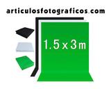 Fondo de Estudio Blanco, Negro o Verde - foto