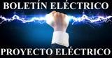 Proyecto electrico / Boletín eléctrico - foto