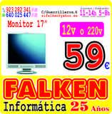 Monitor  17 a 12v o 220v - foto