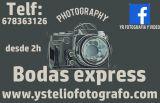 Fotografo boda express - foto