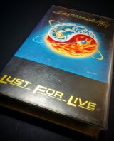 Gamma Ray - Lust for Live - VHS - foto