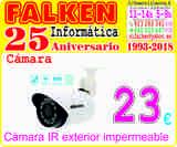 Cámara vigilancia IR exterior impermeabl - foto