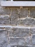 Limpieza de piedra con chorro de arena - foto