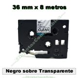 Cintas compatibles 36 mm brother ptouch - foto