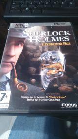 Sherlock holmes el pendiente de plata - foto