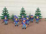 Playmobil soldados infanteria con capas - foto