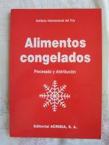 ALIMENTOS CONGELADOS / LIBRO/ TECNICO - foto