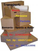 Transport colete urgent in romania - foto