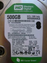 DISCO DURO 3.5 WD 500 GB 16 MB 7200 RPM - foto