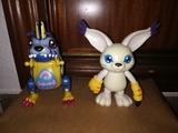 Lote Gatomon y Gabumon de Digimon - foto