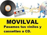 Cintas de VHS Beta a DVD Movilval - foto