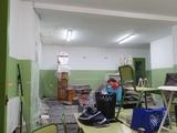 pintura y alisado de paredes - foto