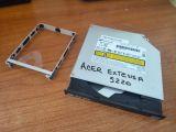 dvdd_rw-ide acer 5220+suporte disco duro - foto