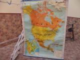 mapa américa norte editorial seix borral - foto