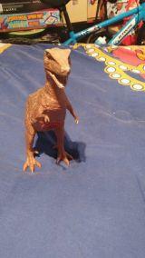 Dinosuario con sonido. - foto