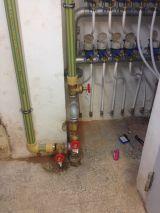 Boletines de agua, instalaciones - foto