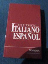 DICCIONARIO ITALIANO - ESPAÑOL ,  SIN USO - foto