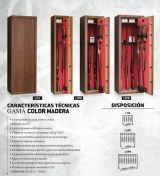 armero 7 armas en madera - foto