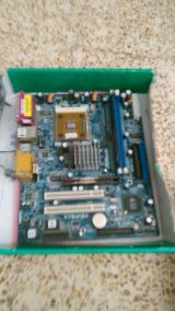 2 placas base asrock agp - foto