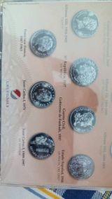 ColecciÓn historia de la peseta en plata - foto