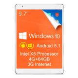 teclast x98  PLUS 3g android + widows 64 - foto