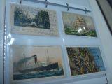 Tarjetas Postales Barcos Color - foto
