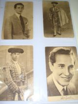 Tarjetas de Toreros de 1945 - foto