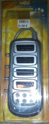 Adaptador AV con interruptores - foto