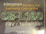 Baterias VARIAS camaras samsung video - foto