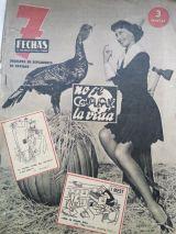 Periodico 7 flechas aÑo 1950 - foto