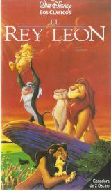 El Rey León-Walt Disney-VHS. - foto