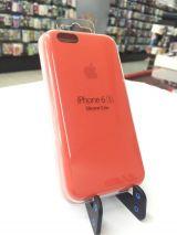 Funda silicone case iphone 6/ 6s naranja - foto