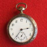 Reloj de bolsillo de plata - foto