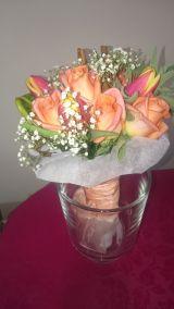 Arreglos con flores, globos y eventos - foto