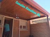 Canalones, fachadas, cubiertas y toldos - foto