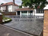 Hormigon impreso ciudad real - foto
