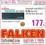 Fujitsu sff E3520 intel G630 8Gb 320Gb - foto