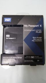 Disco duro wd my passport x 2tb - foto
