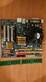 placa 775  dúo gigabyte completa - foto