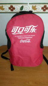 antigua mochila coca cola - foto